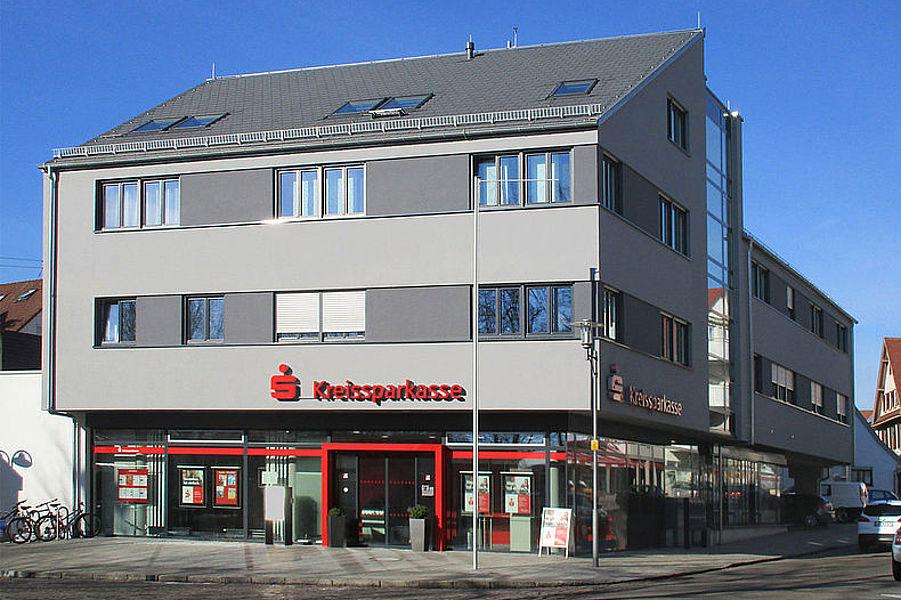 Dienstleistungszentrum korb a b auch binder freie for Korb architekten